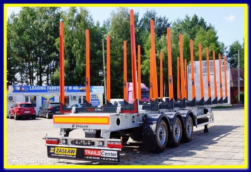 nova ZASLAW TRAILIS 4.600 KG Super Light Timber semi-trailer - READY !!! poluprikolica za prevoz drva