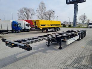 KRONE SD poluprikolica za prevoz kontejnera