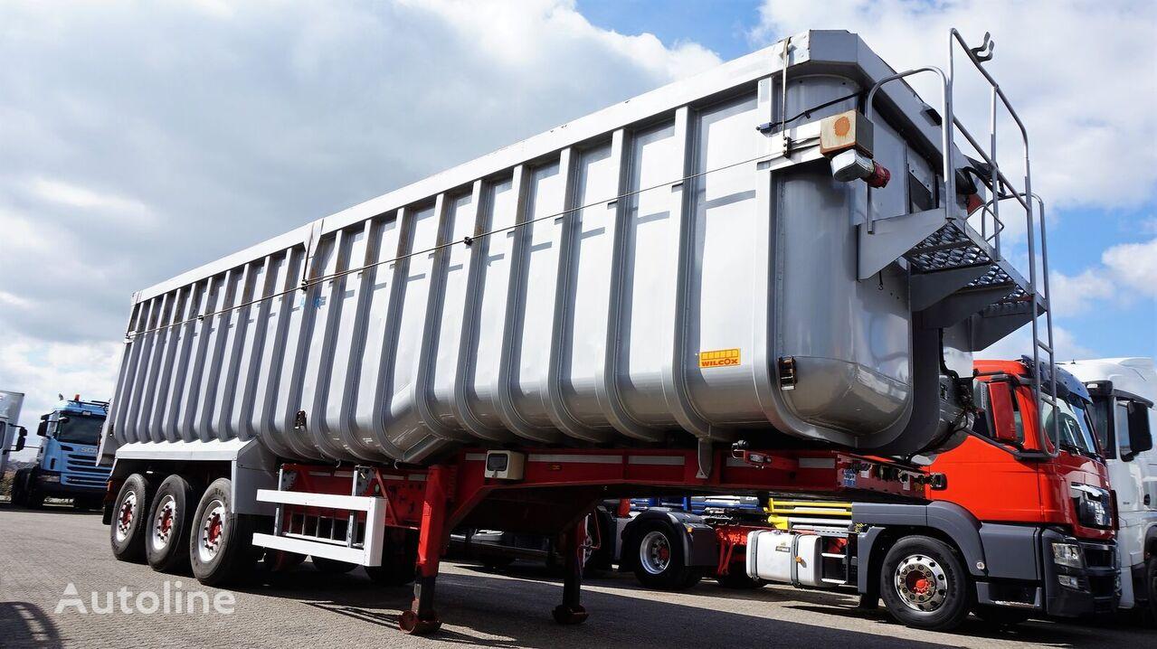 WILCOX Alu Tipper + steel chassis + Cover poluprikolica za prevoz zrna