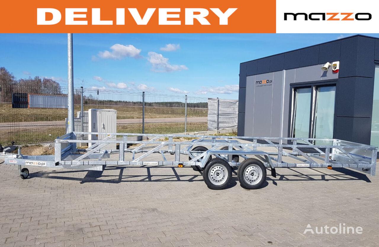 nova Only 750kg gvw! Logs trailer 612x123x40cm two axles auto prikolica