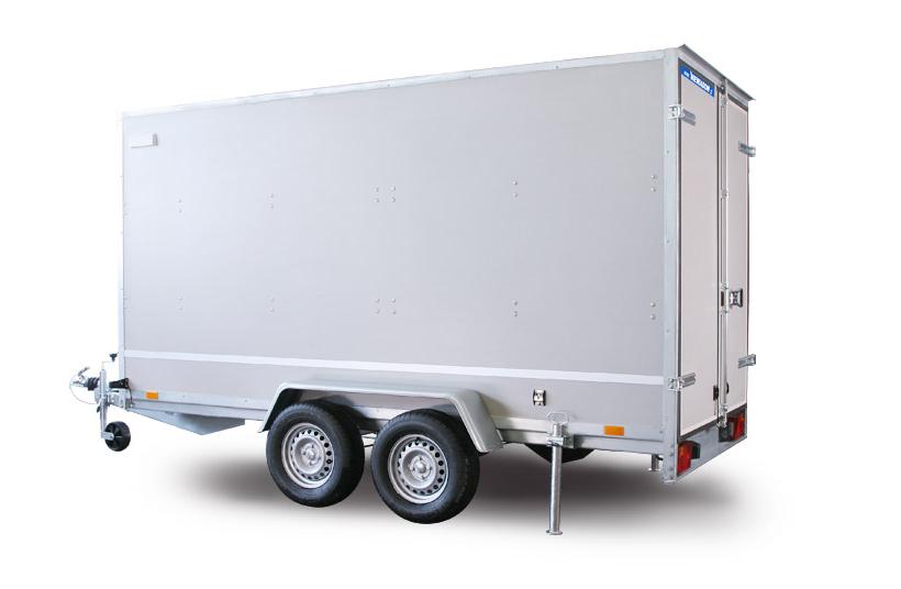 nova F2030HTD 3.05 x 1.5 x 1.8m  VAN prikolica furgon