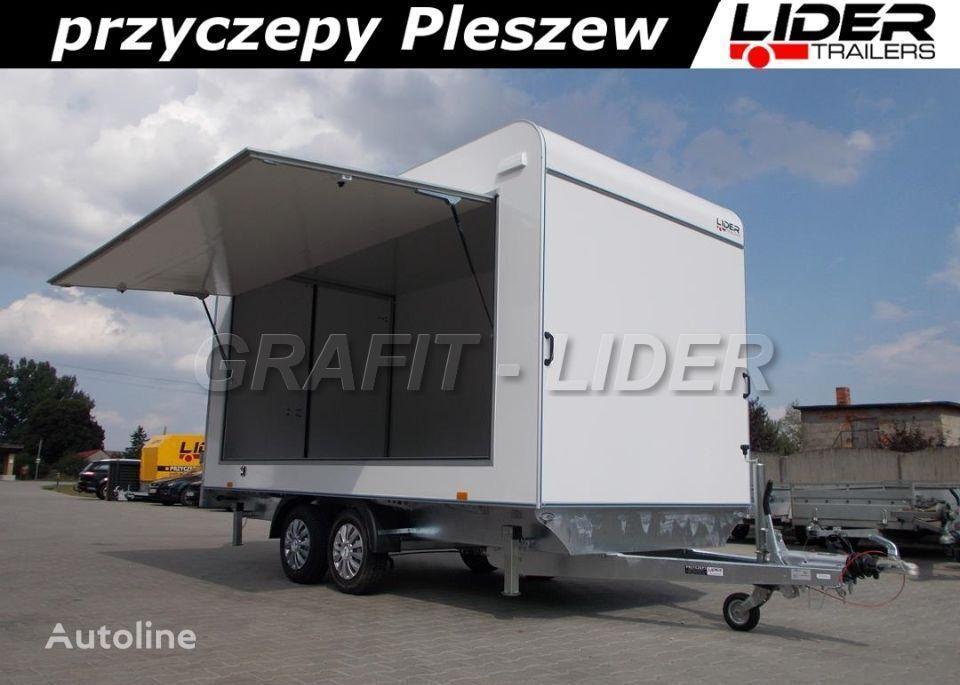 nova LIDER trailers TP-059 przyczepa 420x200x210cm, kontener, furgon izolow prikolica furgon