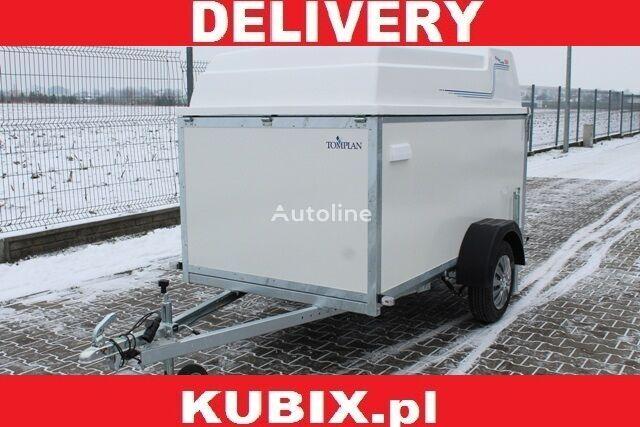 nova PLYWOOD VAN, TFDL 250.00,TOMPLAN,  furgon sklejkowy z zakryciem, prikolica furgon