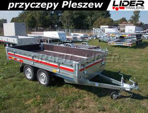 nova TEMARED  TM-241 przyczepa 304x153x30cm, Transporter 3015/2, uniwersalna, prikolica sa ravnom platformom