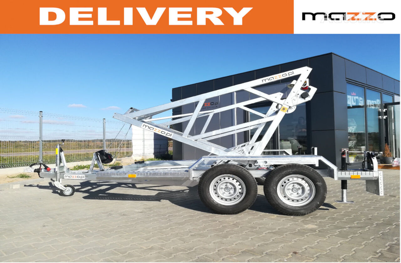 nova Cabel drum trailer 2700kg max fi 280cm Kabeltrommel prikolica šasije