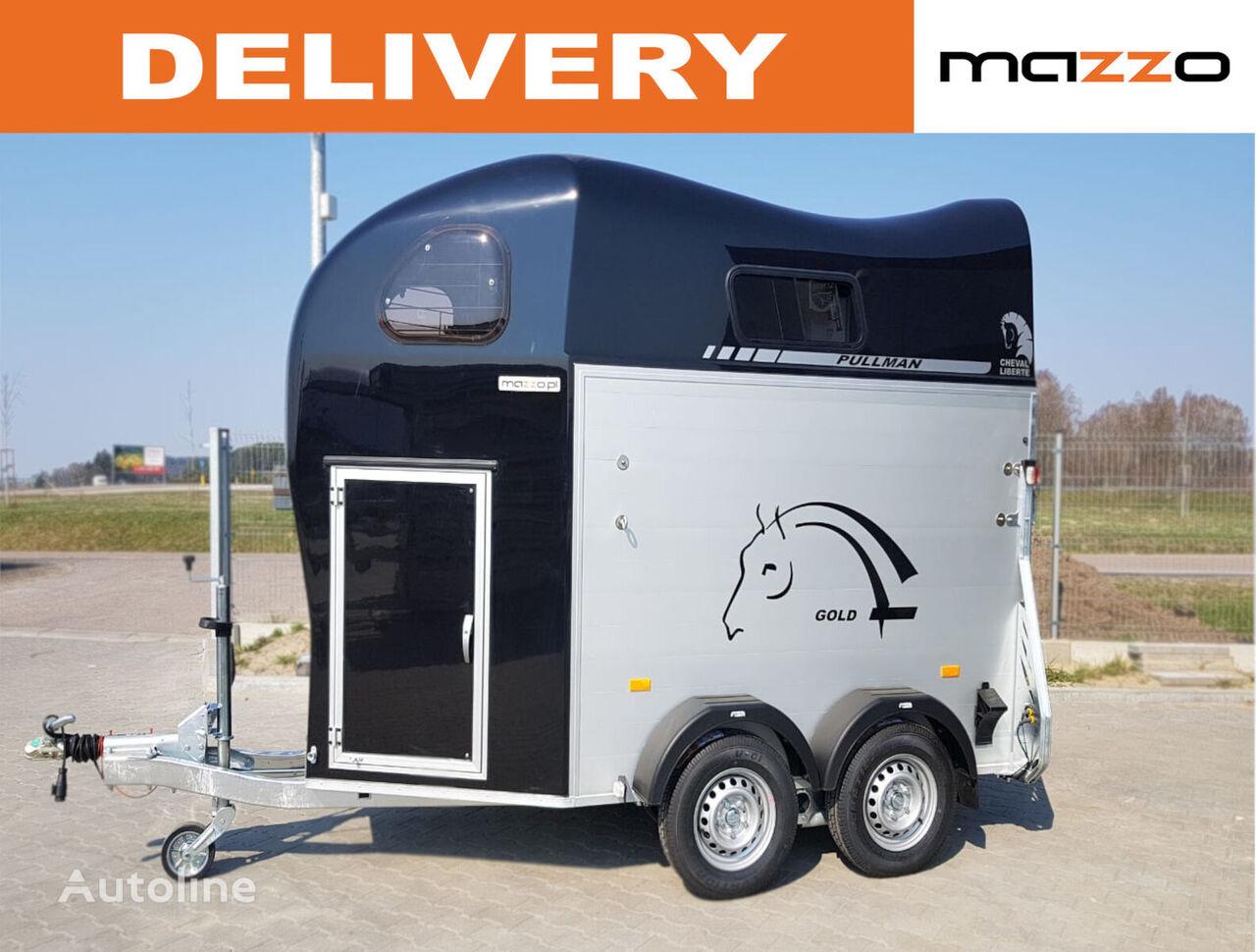 nova Cheval liberte Gold II - two horses trailer prikolica za prevoz konja