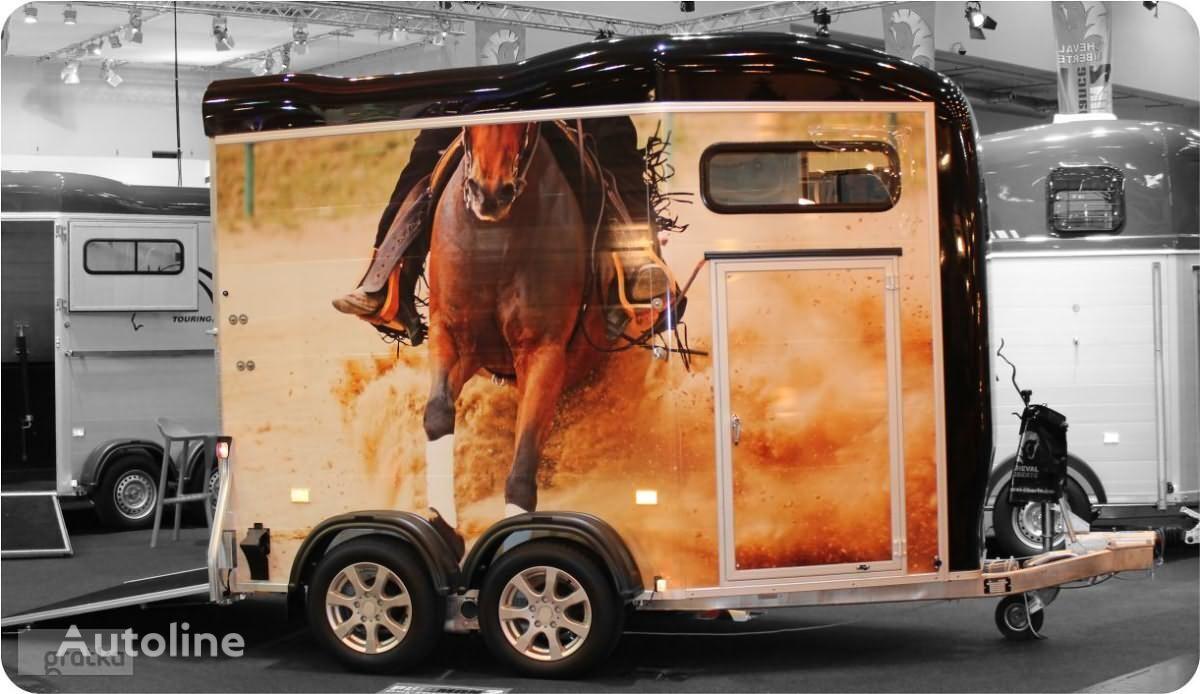 nova Cheval liberte PRZYCZEPA do przewozu koni z przednim wyjściem Gold Touring prikolica za prevoz konja