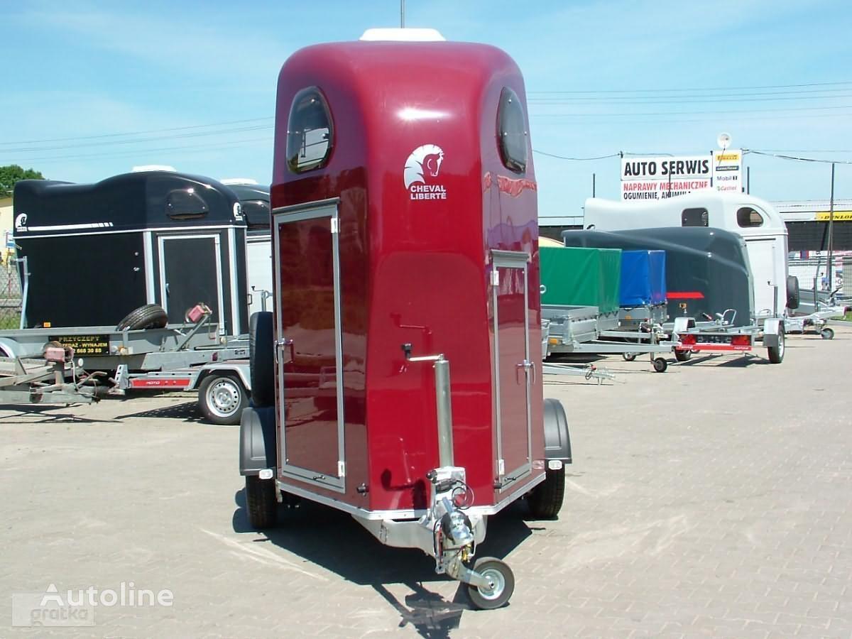 nova Cheval liberte Przyczepa Aluminiowa Przyczepa jednokonna model Gold One prikolica za prevoz konja