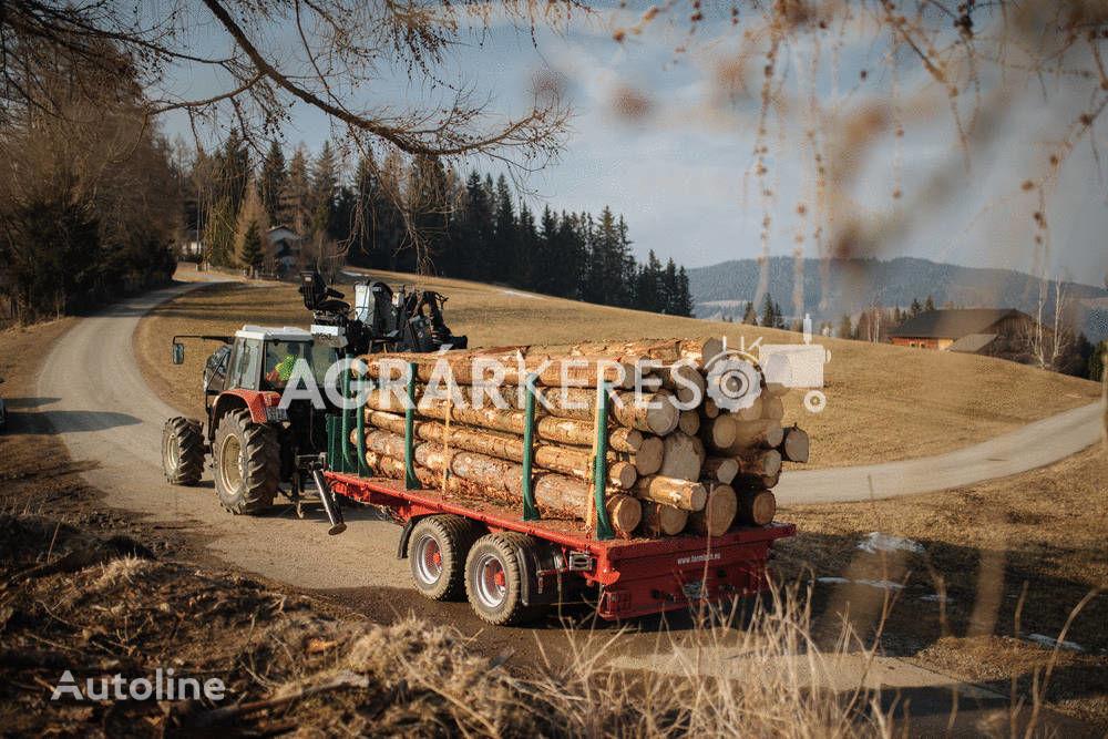 FARMTECH TDK-1300 F  šumarska prikolica