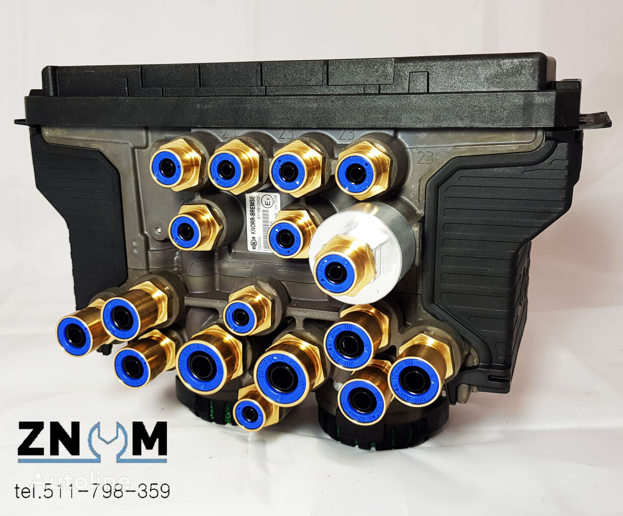 novi KNORR-BREMSE EBS modulator za KNORR-BREMSE poluprikolica