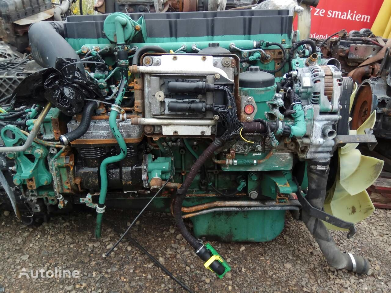 VOLVO D7E 240 E4 motor za VOLVO FL FE kamiona