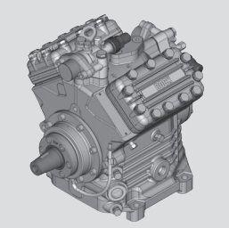 Bock FK40 pneumatski kompresor za rashladne jedinice