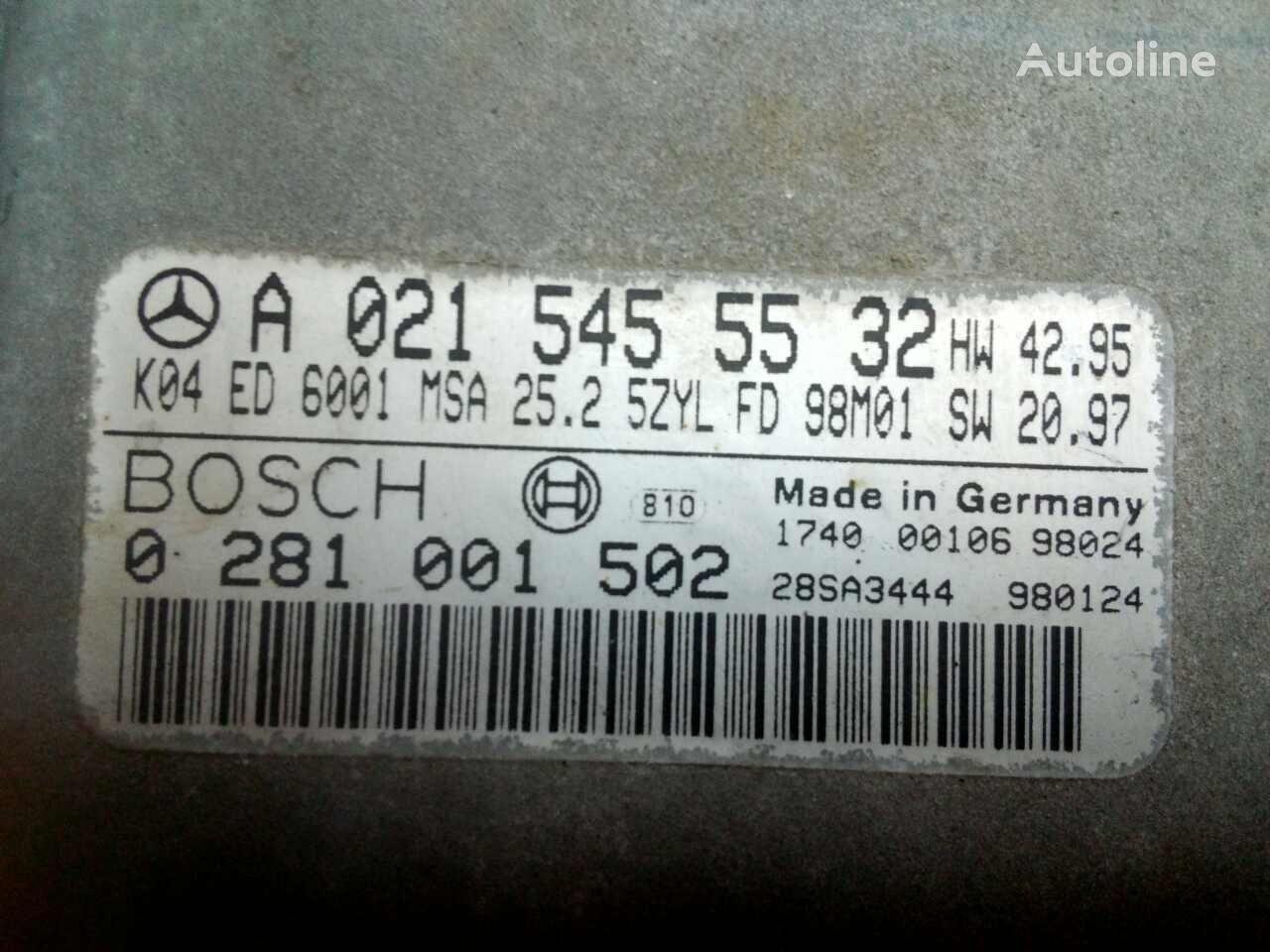 BOSCH A0215455532 upravljačka jedinica za MERCEDES-BENZ SPRINTER kamiona