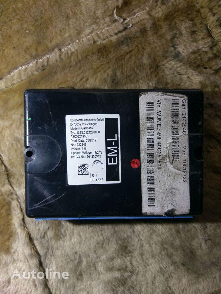 Continental IVECO 1365.0121200000 504230342 upravljačka jedinica za tegljača