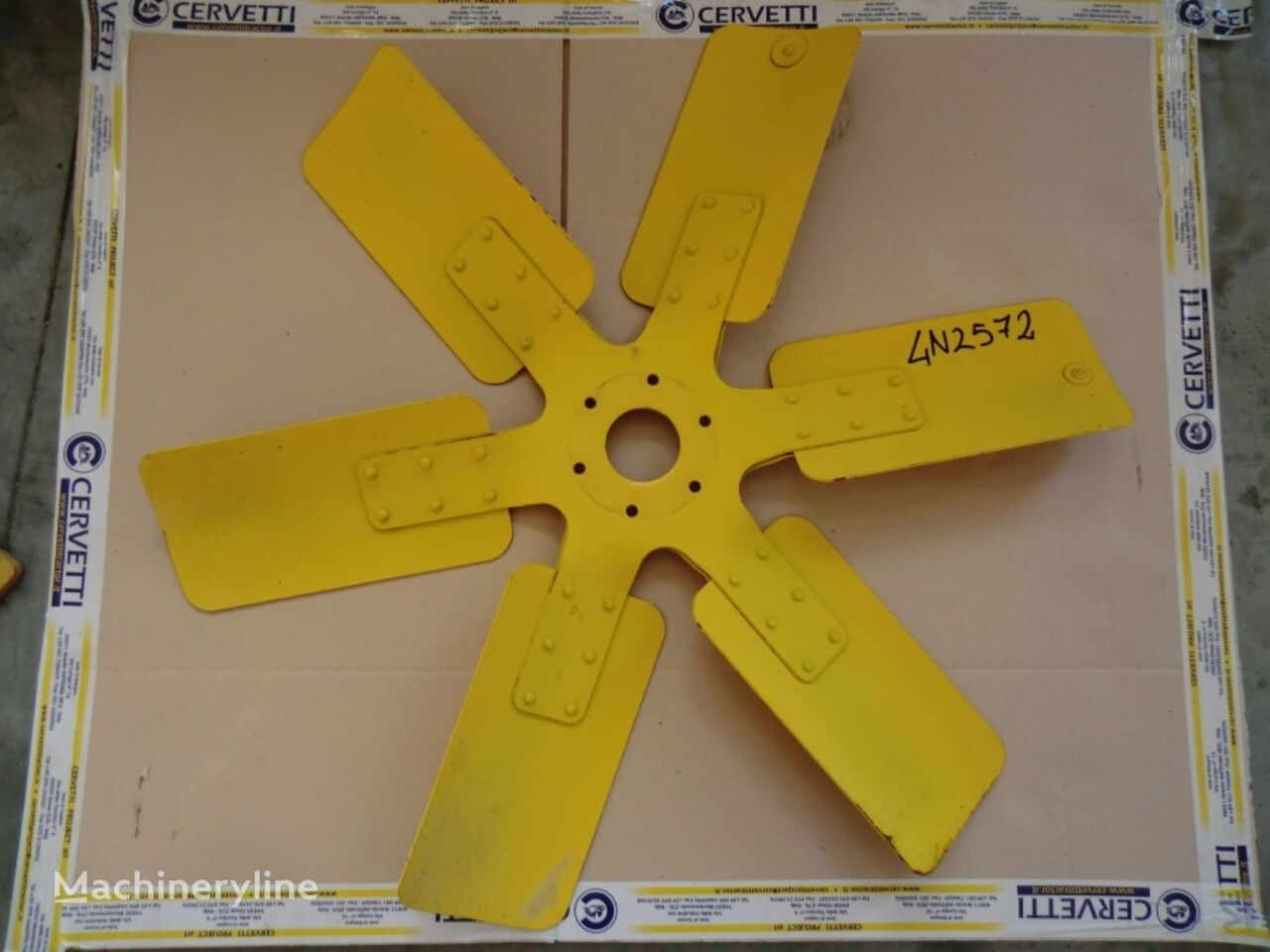 SPIDER AS FAN ventilator hladnjaka za CATERPILLAR 735 AWR00399 zglobnog dampera