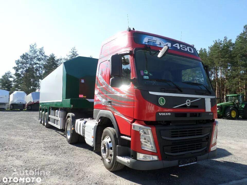 VOLVO VOLVO FM 450 STANDARD EURO 6 6300kg + FAYMONVILLE DO SZKŁA PŁYT  tegljač + poluprikolica za prevoz stakla