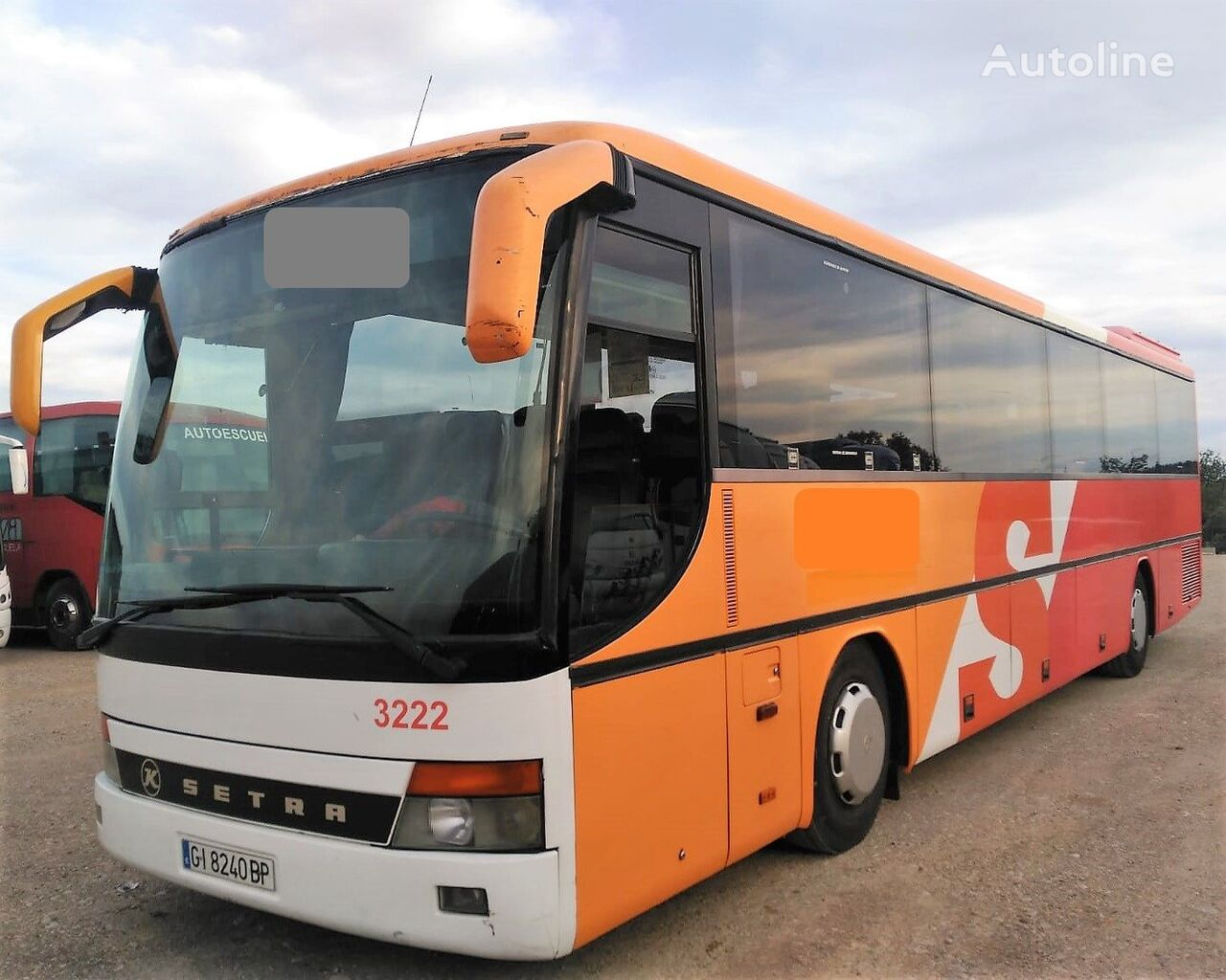 SETRA S315 GT  8 CILINDROS MOTOR MERCEDES+8CILI+380CV turistički autobus
