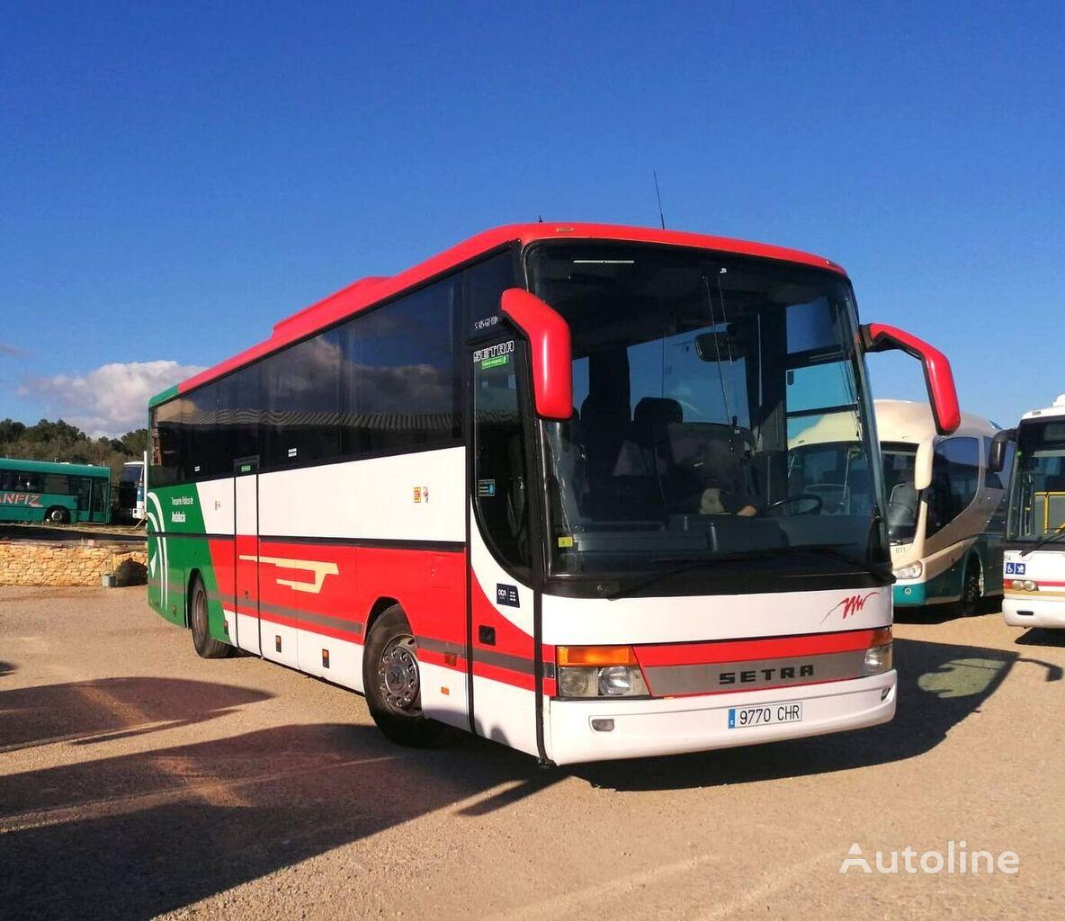 SETRA S315 GT-HD MOTOR MERCEDES + 435 CV + WC turistički autobus