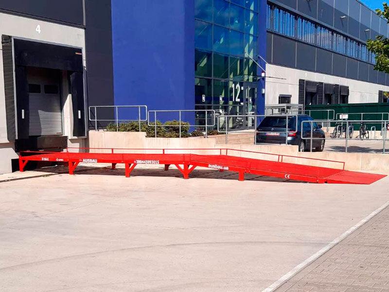 nova AUSBAU Levelling ramp for LCV, Sprinter Auffahrrampe, Rampa stacjonarna utovarna rampa